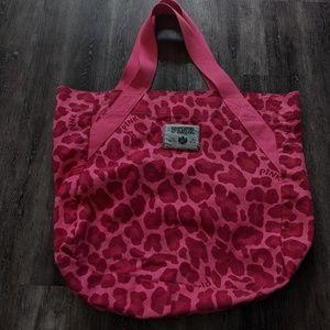 Pink Victoria Secret bag